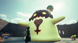 Kingdom Hearts III Mini-jeu Flan à la pastèque
