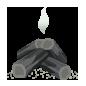 Carbón Quemado KHχ