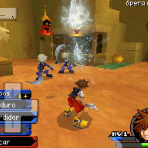 Sora Digital congelando a sus enemigos con Frío Obseso