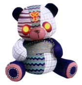 Patchwork Bear KH3
