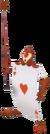 Card Hearts KH