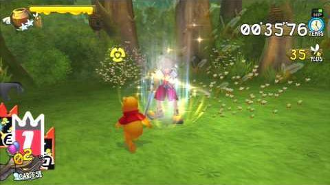 Kingdom Hearts Re Chain of Memories Chasse aux abeilles