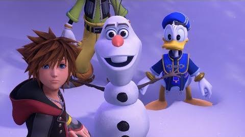 KINGDOM HEARTS III – E3 2018 Frozen Trailer