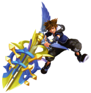 Sora (Element Form) KHIII