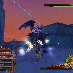 Batalla de Sora contra Sephiroth en <i>Kingdom Hearts II</i>