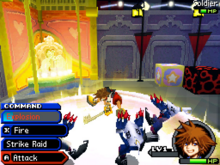 Kingdom Hearts Re-coded Gameplay 1