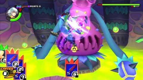 Kingdom Hearts Re Chain of Memories Reverse Rebirth Combat contre Parasitocage