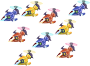 Colorful Copter Fleet KHX