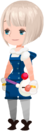 Keyblade Wielder (Moogle Blue - Sleek Bob) KHX