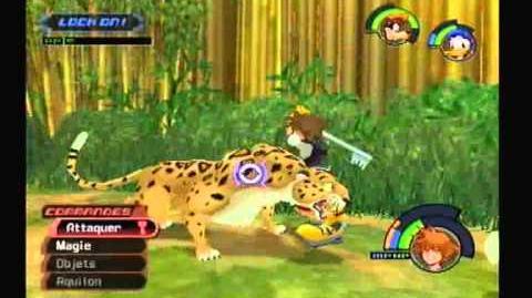Kingdom Hearts - Soluce - 062. Sabor (Dernier combat)