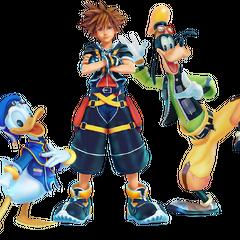 Artwork de <i>Kingdom Hearts III</i>