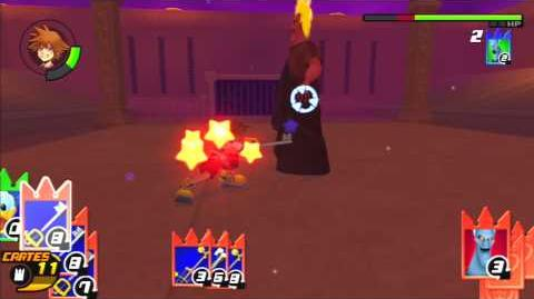 Kingdom Hearts Re Chain of Memories Combat contre Hadès