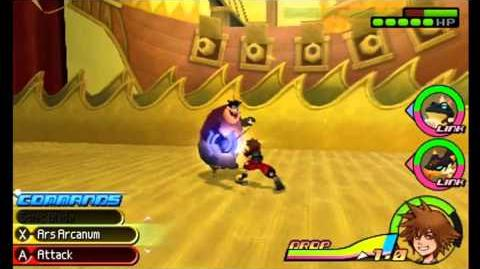Kingdom Hearts 3D Dream Drop Distance Pete Beagle Boys fight