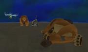 Scar caido en el suelo