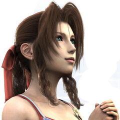 Aerith en el Final Fantasy VII