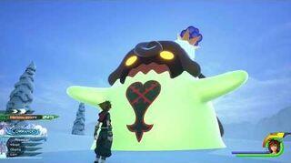 Kingdom Hearts III Mini-jeu Flan au raisin