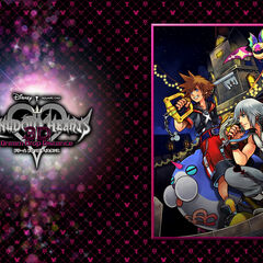 1° Wallpaper de Kingdom Hearts Dream Drop Distance