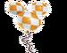 Sticker ballon 3 Terra