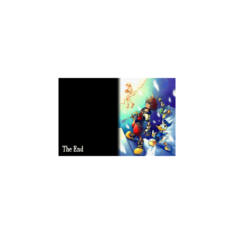 The End de la Historia de Sora en <i>Kingdom Hearts: Chain of Memories</i>.