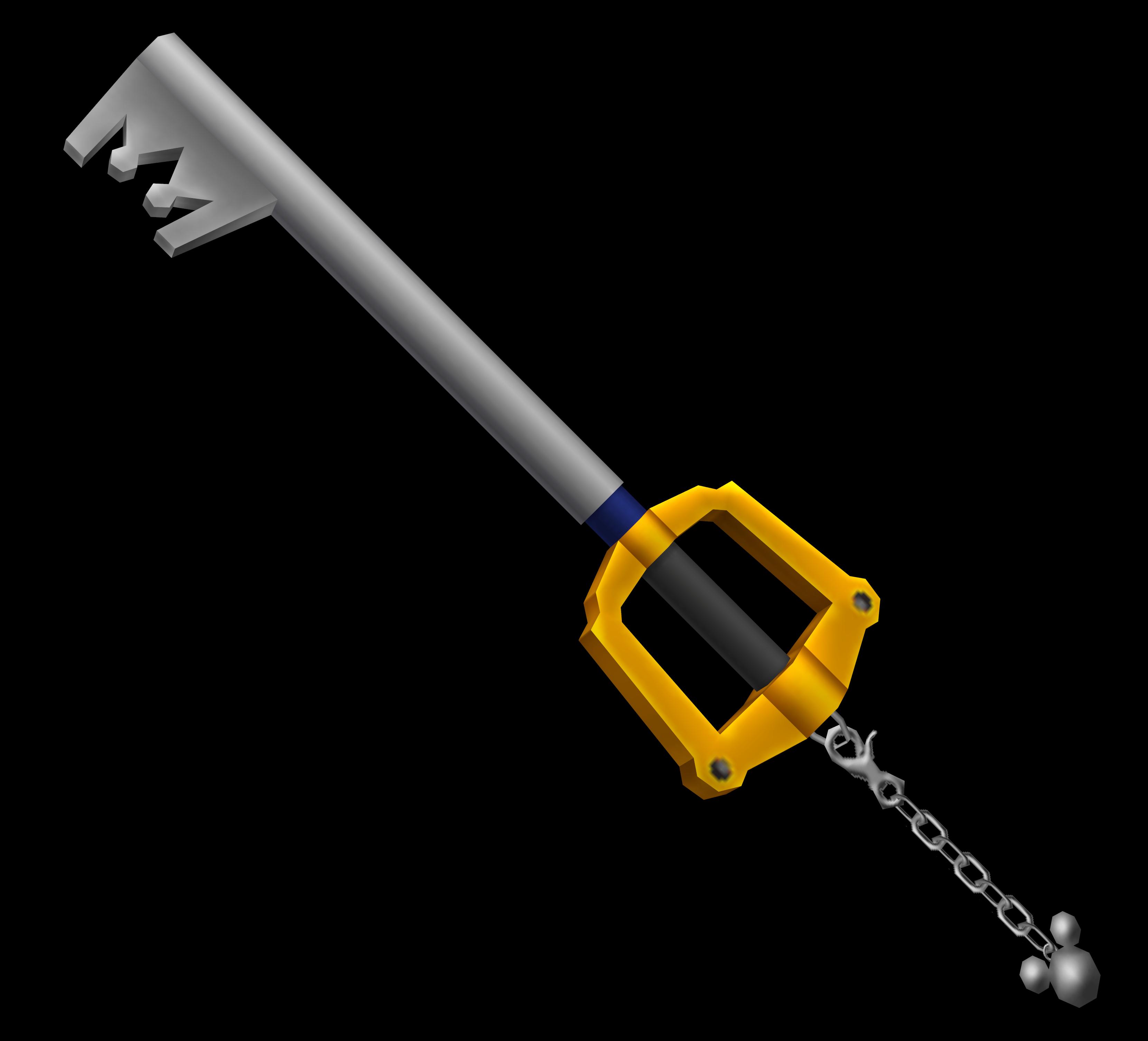 Kingdom Key from KH1 render