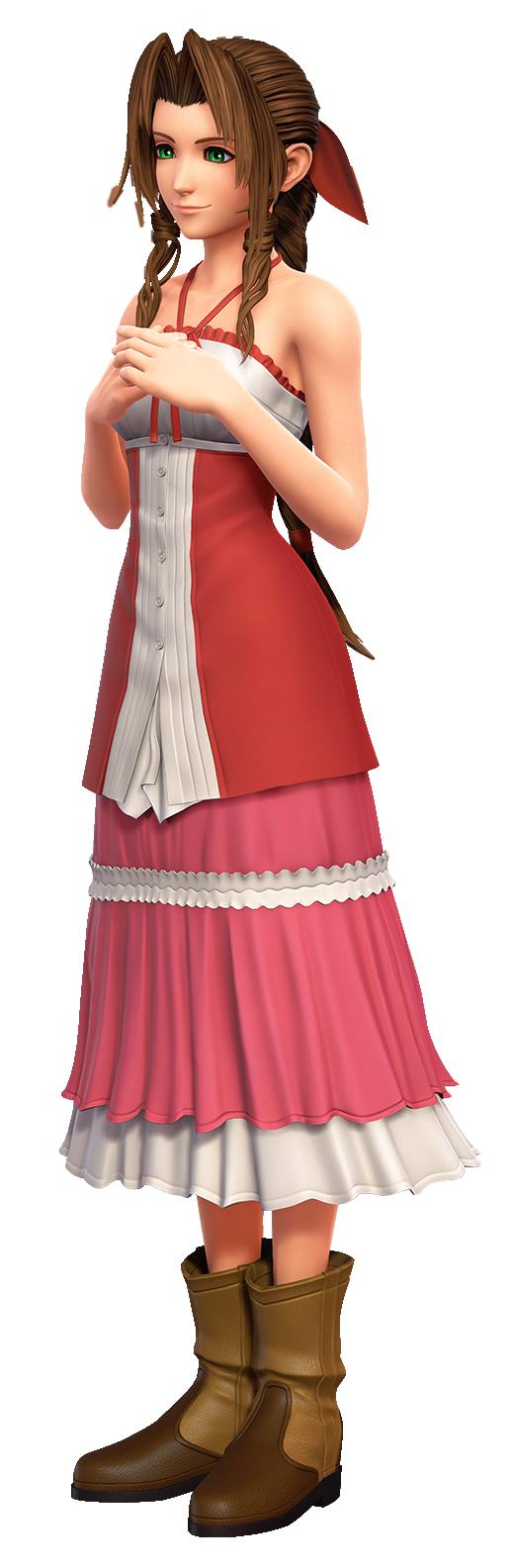 Aerith - Dissidia Final Fantasy Opera Omnia by FFSteF09 on