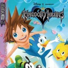 Cubierta del volumen 3 del manga de <i>Kingdom Hearts</i>