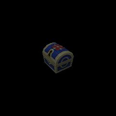 Un cofre pequeño que aparece en Bosque de los Enanitos