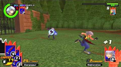 Kingdom Hearts Re Chain of Memories Reverse Rebirth Combat contre Néo Riku 2