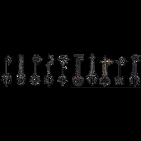 Llaves Espada de la Necrópolis de Llaves Espada