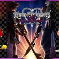 Sora y Riku en la portada de <a href=