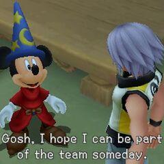 Riku y el Rey Mickey