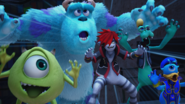 KH3 Sully with Mike and Sora