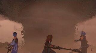 Kingdom Hearts 3 Demon Tide Boss Fight 18