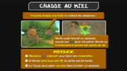 La Chasse au Miel instructions