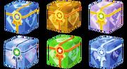 Cubes de récompenses