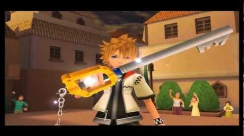 Kingdom Hearts 2 Final Mix - Axel 1st fight (English,Critical)-No Damage-