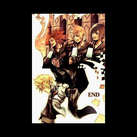The End en <i>Kingdom Hearts 358/2 Days</i>.