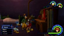 Juguetes referentes a Toy Story en ciudad de paso