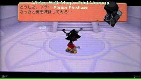 Kingdom hearts coded -Sora Vs Roxas