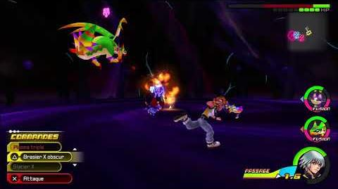 Kingdom Hearts 3D Dream Drop Distance HD Combat contre Ansem 1