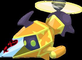 Yellow Gummi Copter KHX