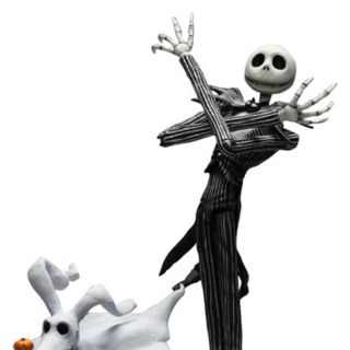 Jack Skellington con Zero ~ Series 4
