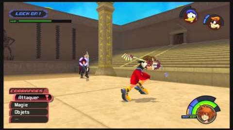Kingdom Hearts -HD 1.5 ReMIX- Combat contre Cloud