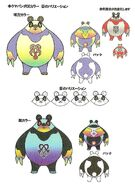 Concept Art Kuma Panda