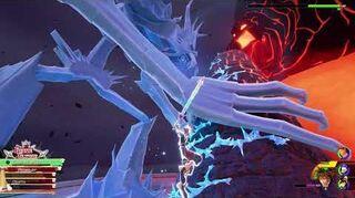 Kingdom Hearts III Critique Combat contre les Titans de Glace et de Lave