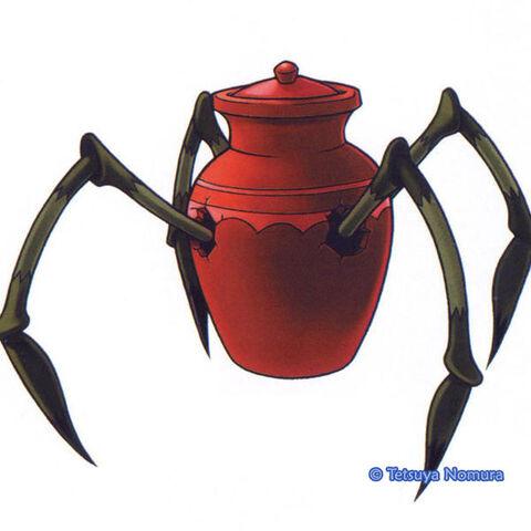 Artwork de Araña de Tinaja