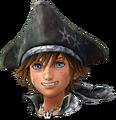 Sora (Pirate) Portrait - Forme vive KHIII