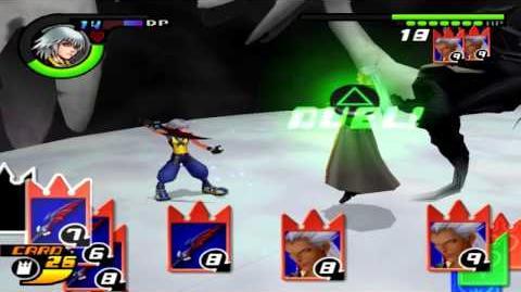 Kingdom Hearts Re CoM Riku vs