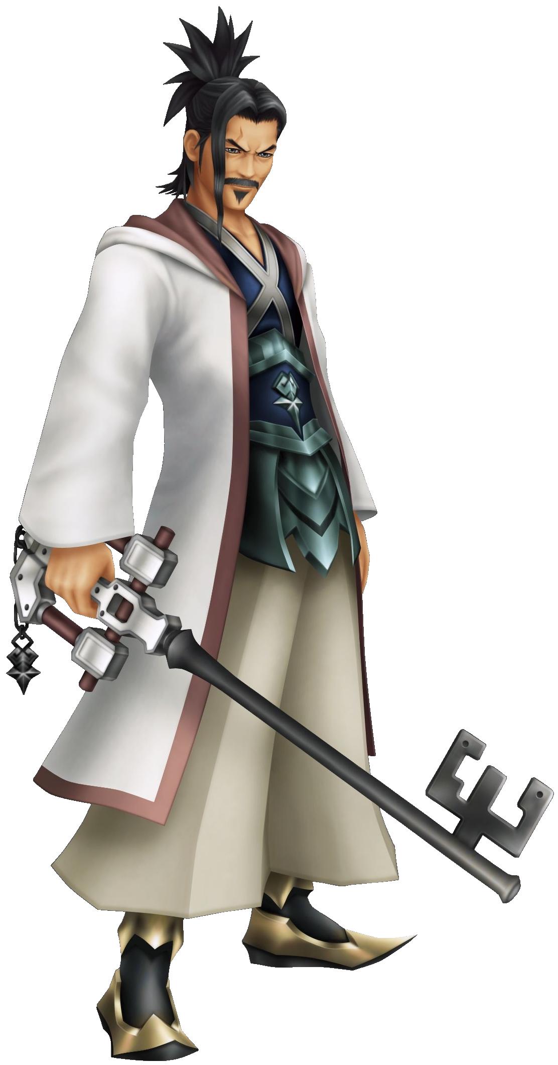 Riku Keyblade Master