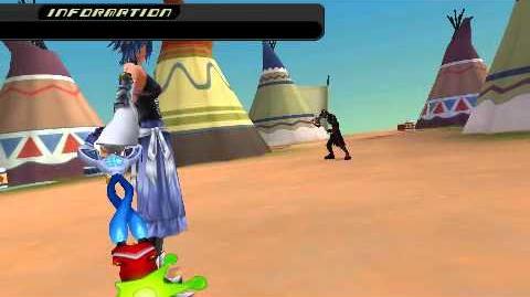 Kingdom Hearts Birth by Sleep - Vanitas II - Aqua Critical Mode